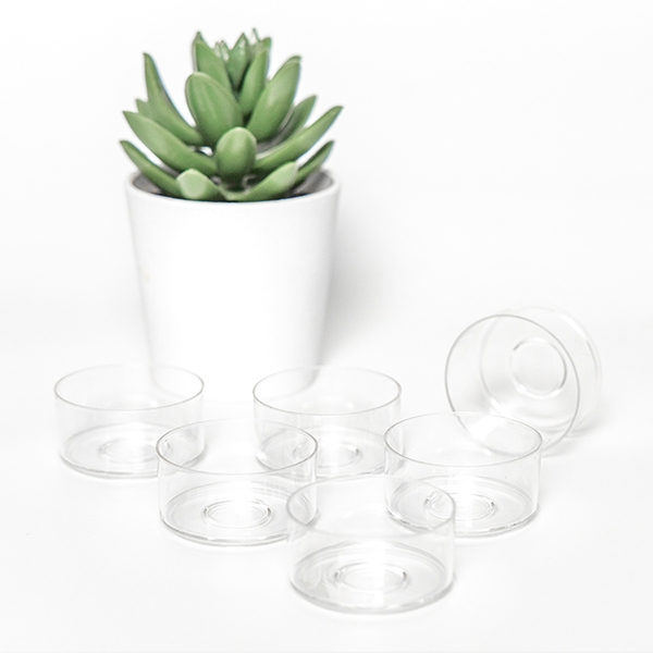 PC99 wholesale plastic candle holders