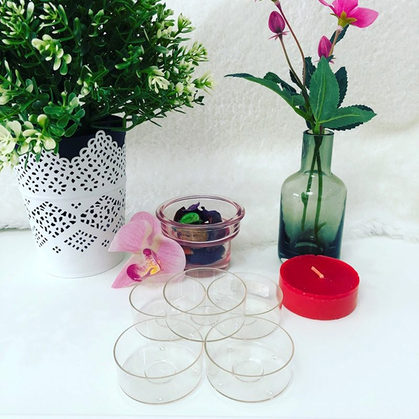 PC38 environmental protection plastic candle cup