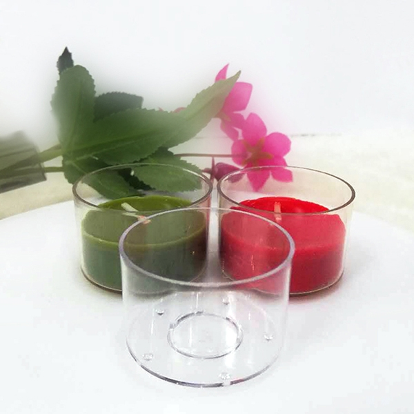 PC36 flame retardant tealight candle container